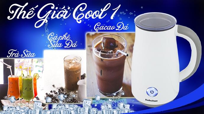 quà tặng 8/3 khi mua máy xay cà phê và máy làm kem kahchan tặng bình nấu thức ăn không điện Kahchan