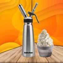 bình xịt kem tươi inox kahchan chuyên dùng cho quán cafe và tiểm bánh