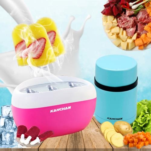 máy làm kem tươi kahchan, muốn ăn thì làm, ngay làm ngay có