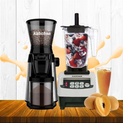 Com boo Máy xay sinh tố chuyên nghiệp và máy xay cà phê Khahchan CG9129