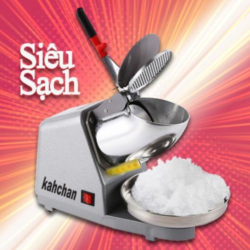 máy bào đá tuyết kahchan chuyên dùng cho quán cà phê và nhà hàng